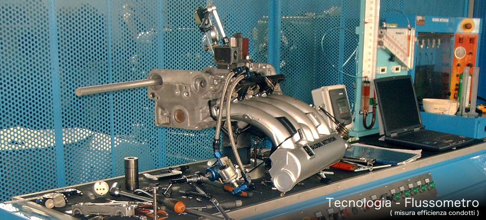 Tecnologie ricostruzione ed elaborazione motori